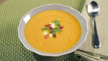 Sweet Potato Soup Recipe by Clinton Kelly