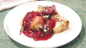 Orange-Cranberry Bread Pudding Recipe by Carla Hall