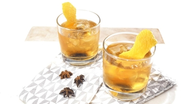 Orange Thyme & Anise Infused Bourbon Recipe by Clinton Kelly