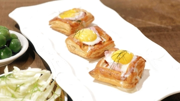 Holiday Ham and Fondue Pastries Recipe by Mario Batali: Part 1