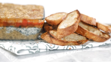 Triple Threat Party Dip Recipe by Clinton Kelly