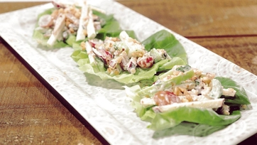 Waldorf Salad Cups Recipe by Bridget Moynahan
