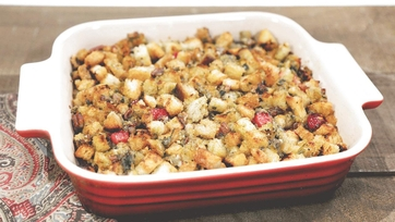 Family-Style Thanksgiving Stuffing Recipe by Zelda Owens