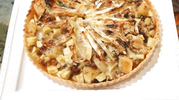 Sweet & Savory Brie Tart Recipe by Clinton Kelly