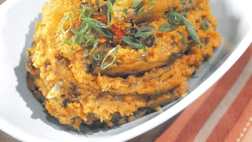 Dirty Sweet Potatoes Recipe by Mario Batali: Part 1