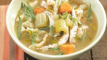 Turkey Spaetzle Stew Recipe by Michael Symon