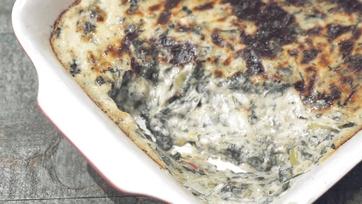 Leek and Swiss Chard Gratin Recipe by Michael Symon
