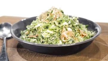 Pickled Ginger Brussels Sprouts Salad Recipe by Mario Batali