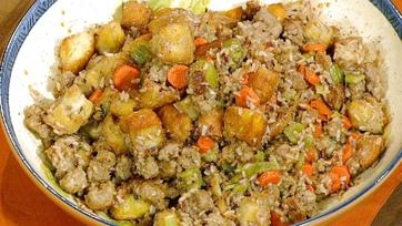 Wild Rice Stuffing Recipe by Michael Symon