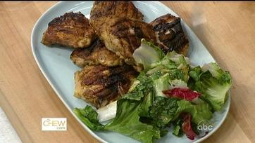 Michael\'s Brick Chicken and Radicchio Salad - P2
