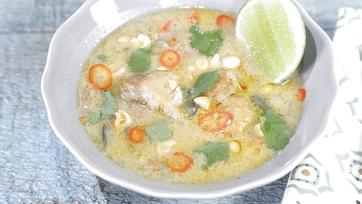 Coconut Chicken Stew Recipe by Carla Hall