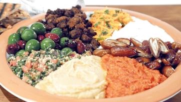 Mediterranean Platter Recipe by Clinton & Carla: Part 1