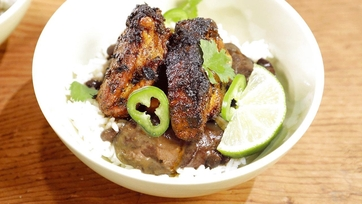 Roasted Spareribs with Beans Recipe by Mario Batali: Part 2