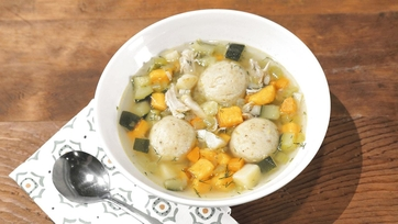 Chicken Matzo Ball Soup Recipe by Brooke Burke