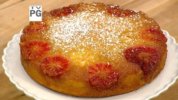Gina Torres\' Citrus Upside-Down Cake Part 1