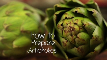 How to Slice and Dice an Artichoke