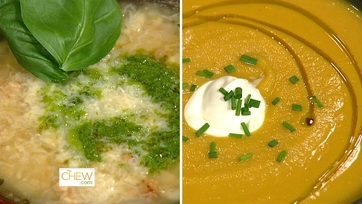 Mario\'s Soup Two Ways