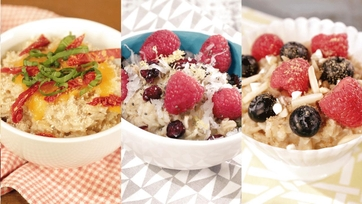 Build Your Own Oatmeal Bowl: Part 1