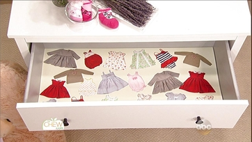 Baby Clothes Drawer Liners Craft