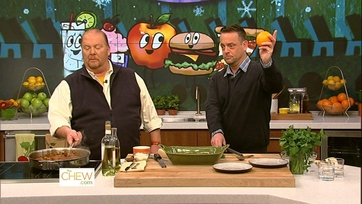 Mario and Lenny Venito Get Cooking - Part 2
