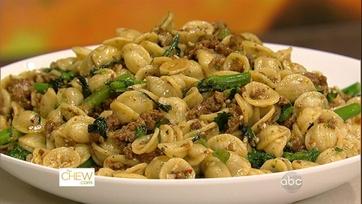 Mario\'s Sausage and Broccoli Rabe Orrecchiette- P1