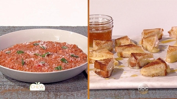 Rustic Tomato Soup & Mini Grilled Cheese Recipes: Part 1