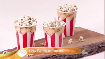 Parmesan Popcorn Recipe by Daphne Oz