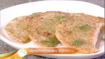 Spring Pea Pierogies Recipe: Part 2