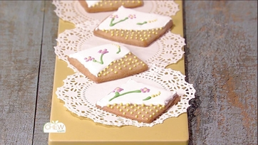 Embroidery Cookies Recipe