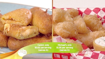 Fried Cheese Curds & Fried Pimento Cheese Sticks Recipes: Part 2