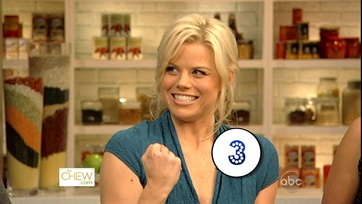 Clinton and Megan Hilty Get Cooking - Part 2