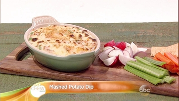 Mashed Potato Dip Recipe