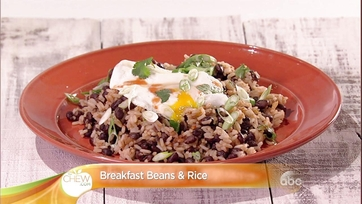 Breakfast Beans & Rice Recipe