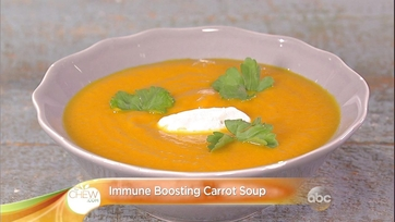 Immune-Boosting Carrot Soup Recipe