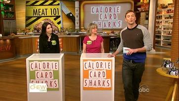 Calorie Card Sharks