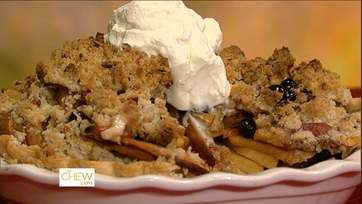 Dish of the Day: Tina\'s Peach Blueberry Pie