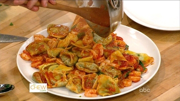 Ravioli with Ramps and Tomato Sauce:  Part 1