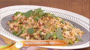 Spring Kimchi Fried Rice Recipe: Part 1