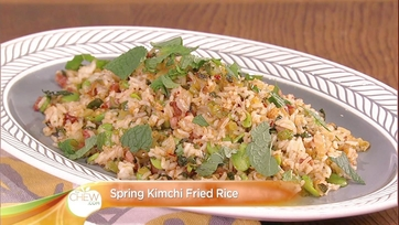Spring Kimchi Fried Rice Recipe: Part 2
