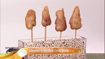Chicken & Waffles On A Stick Recipe: Part 1