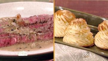 Steak Au Poivre | Duchess Potatoes Recipes: Part 1