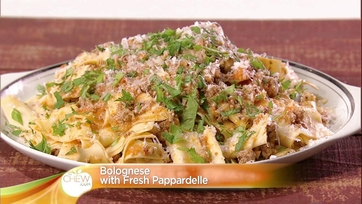 Bolognese with Fresh Pappardelle: Part 1