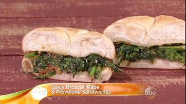 Spicy Broccoli Rabe & Provolone Sandwiches: Part 2