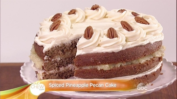 Spiced Pineapple Pecan Cake: Part 1