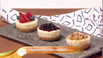 Foolproof Mini Cheesecakes: Part 1