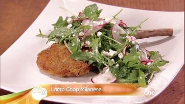 Lamb Chop Milanese