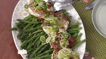 Asparagus with Sunny-Side-Up Eggs & Pan Fried Soft Shell Crabs: Part 2
