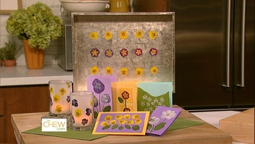 Clinton\'s Craft Corner: Pressed Flower Cards