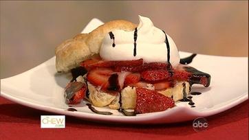 Mario\'s Strawberry Shortcake