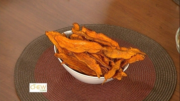 Daphne\'s Baked Sweet Potato Chips